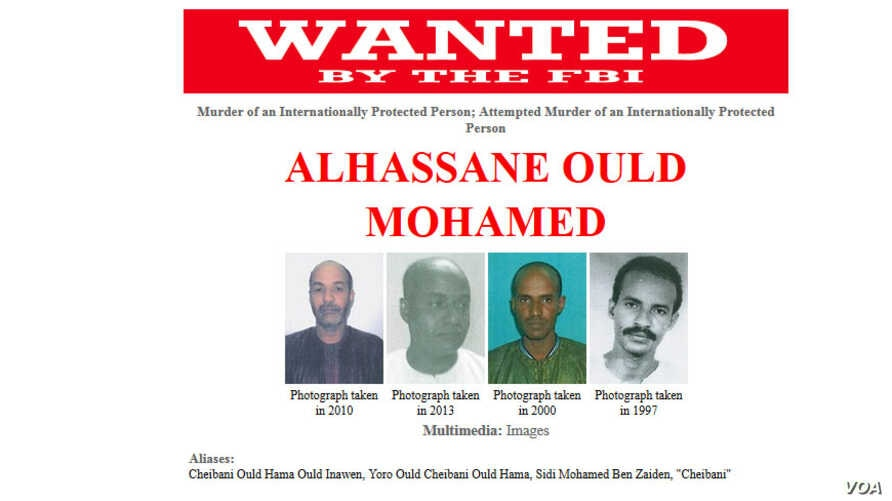 """FILE - Alhassane Ould Mohamed, also known as """"Cheibani"""", was among 22 Islamist militants who escaped from a prison in Niger's capital in June."""