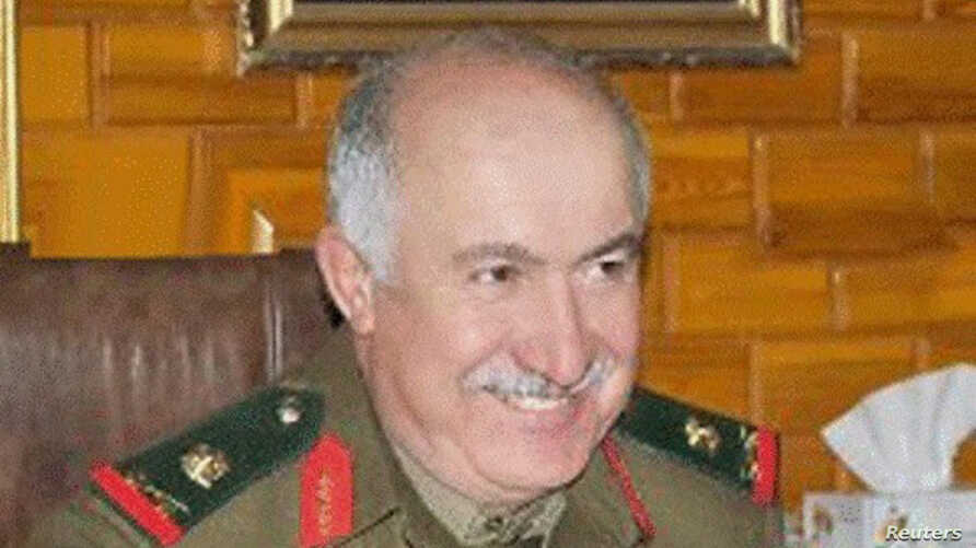 An undated handout photograph shows top-ranking general in Syrian military intelligence, General Jama'a Jama'a who was killed in Deir al-Zor city, Oct. 17, 2013