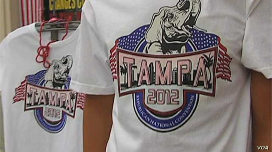 Republicans Descend on Tampa, Florida