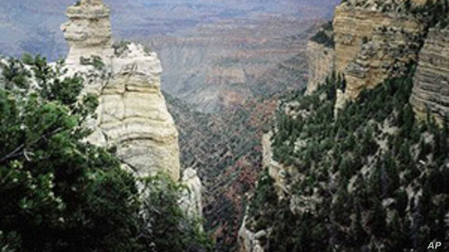 The majestic Grand Canyon is one of America's most powerfu