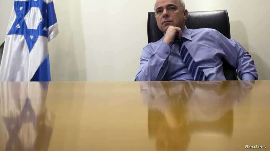 Yuval Steinitz is seen in a January 2, 2013, file photo.