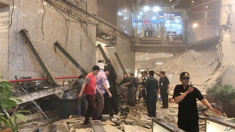 Indonesia Structural Collapse
