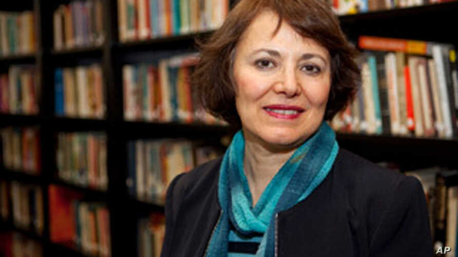 This undated photo made available by Amanda Ghahremani, shows retired Iranian-Canadian professor Homa Hoodfar. A Tehran prosecutor said Monday, July 11, 2016, that Hoodfar, who is a retired professor at Montreal's Concordia University, is among four