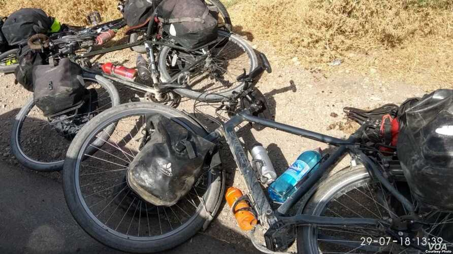Foreign cyclists attacked in Tajikistan