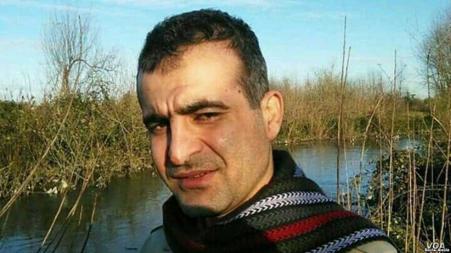 Iranian environmentalist Yousef Farhadi Babadi, shown in this undated photo, was detained by Iranian security agents in the western Iranian city of Shahrekord on Feb. 17, 2019, says his Germany-based brother.
