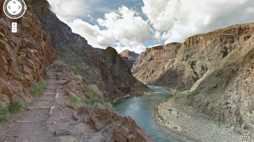 The 1,450-mile Colorado River has carved the Grand Canyon over the millenia. Here's view form the Arizona Trail.