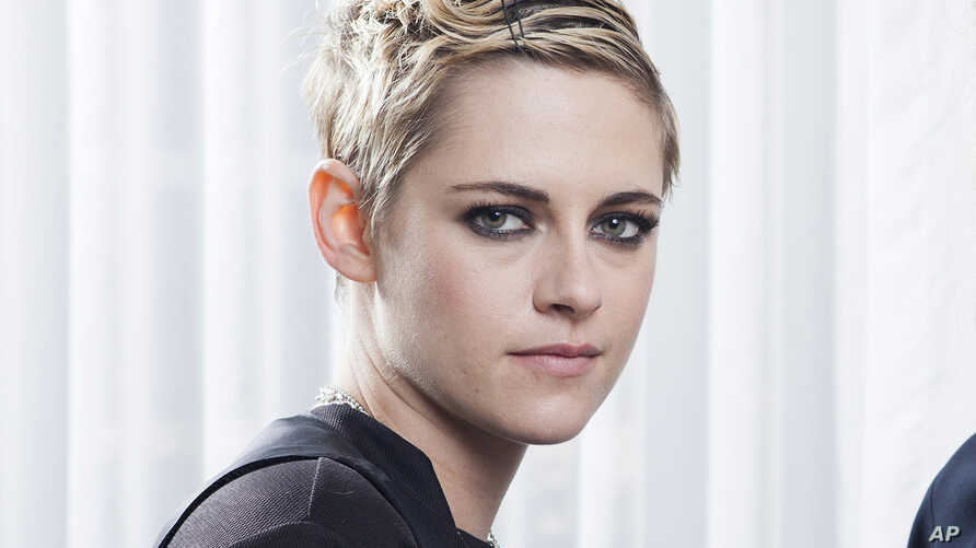 """FILE - In this Aug 23, 2018, photo, Kristen Stewart is at the Four Seasons Hotel in Los Angeles to promote her film """"Lizzie,"""" a provocative Lizzie Borden biopic. In the year after the downfall of Harvey Weinstein and the rise of #MeToo awareness, Ste"""