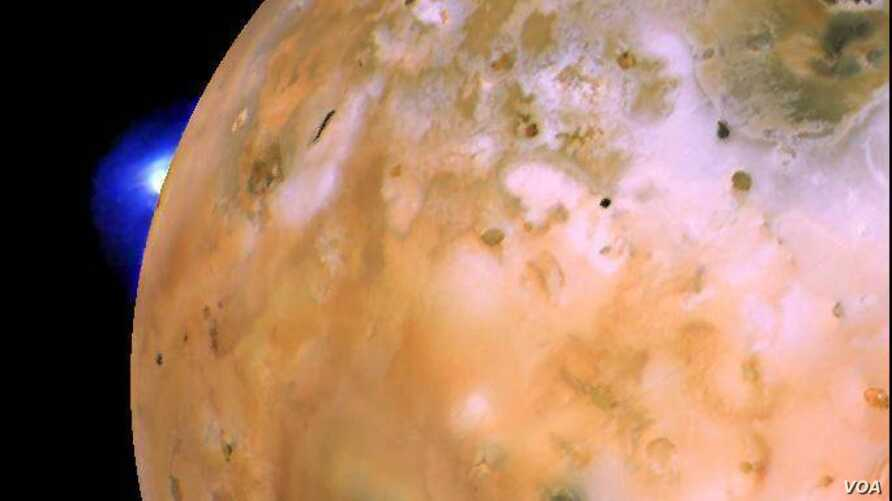 Jupiter's moon Io is the most volcanic body in the solar system. A new study suggests lava waves flow inside the crater of the moon's largest volcano.