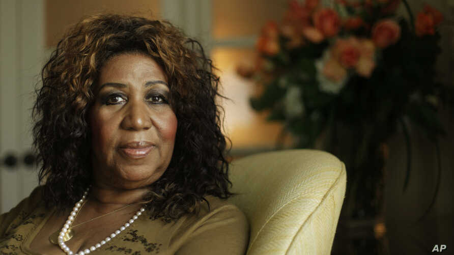 FILE - Performer Aretha Franklin in Philadelphia, Monday, July 26, 2010.