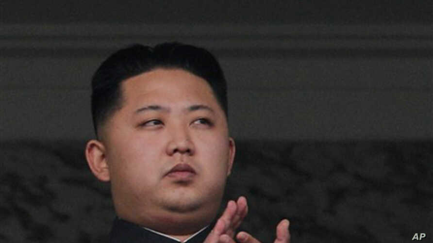 North Korea leader Kim Jong Il's son Kim Jong Un attends a massive military parade marking the 65th anniversary of the communist nation's ruling Workers' Party in Pyongyang, North Korea, 10 Oct 2010