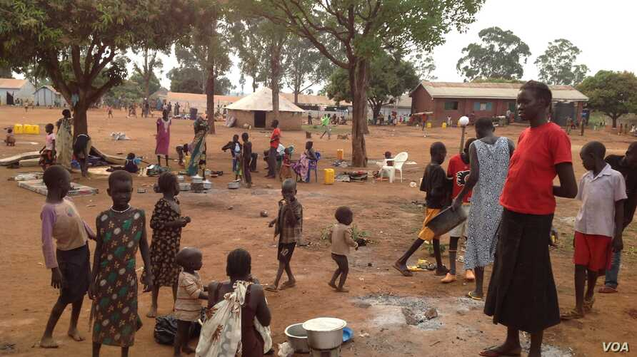 South Sudan refugees at Kiryandongo settlement camp in Uganda. Uganda has taken in more than 76,000 refugees from South Sudan since unrest broke out there on Dec. 15, 2013.