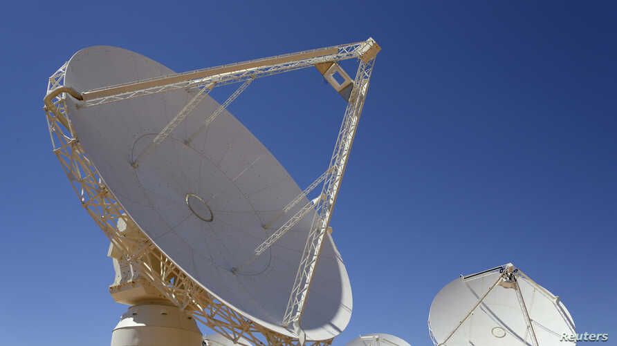 Dishes from the Australia Square Kilometre Array Pathfinder are seen at Murchison, Western Australia, October 5, 2012.