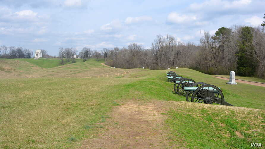Vicksburg National Military Park preserves the site of the Battle of Vicksburg, a turning point in America's Civil War, waged from May 18 to July 4, 1863.