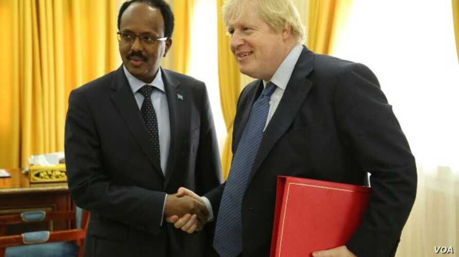 Somali President and the UK foreign Secretary. It was provided to us by the government.