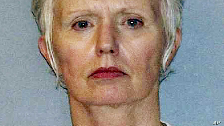 FILE - Catherine Greig, longtime girlfriend of Boston mobster James 'Whitey' Bulger, appears in this undated file photo provided by the U.S. Marshals Service.