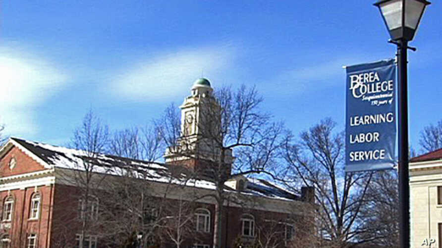 Berea College students pay for their education by working at jobs provided by the college while they study to earn their degrees.