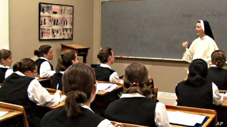 The Dominican Sisters of St. Cecilia are active in Australia and across the United States, where they teach more than 13,000 students in 34 schools.