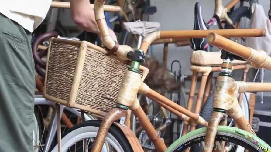 Philippines Bicycle Company Says Its Products Protect Environment