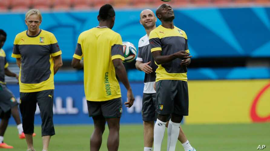 Brazil Soccer WCup Cameroon