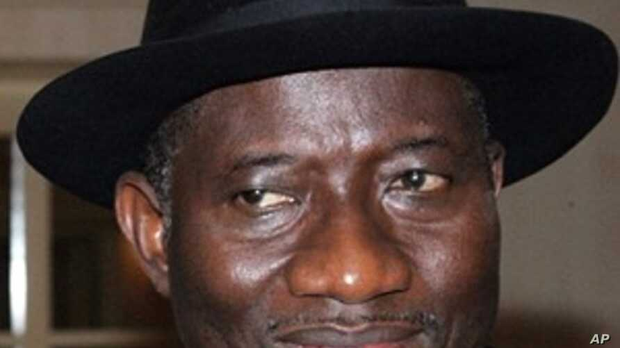 Nigeria's Acting President Goodluck Jonathan in Abuja. The country's parliament has named Jonathan acting leader while President Umaru Yar'Adua remains hospitalized in Saudi Arabia (November 2009 file photo)