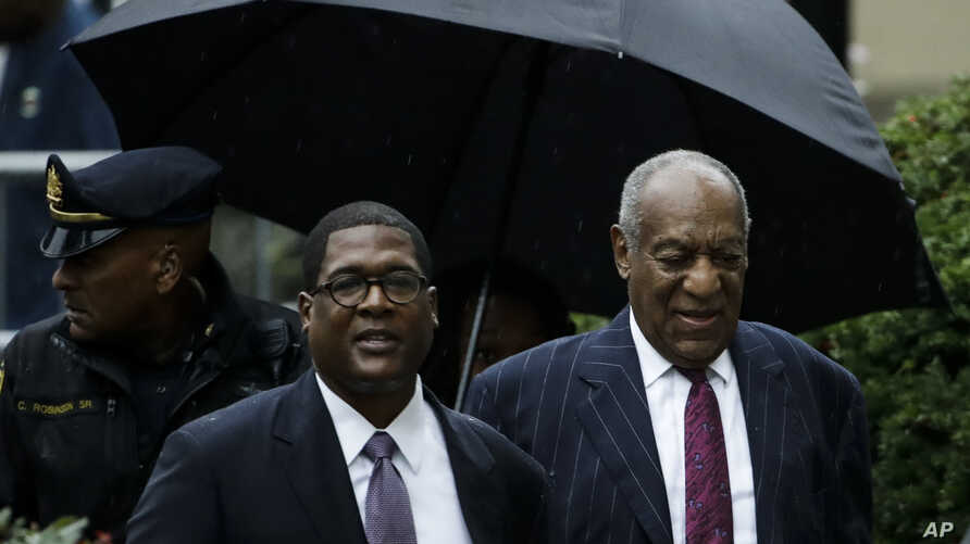 Bill Cosby arrives for his sentencing hearing at the Montgomery County Courthouse, Tuesday, Sept. 25, 2018, in Norristown Pa.