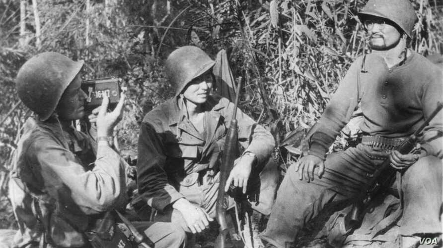 Roy Matsumoto was one of 14 Nisei to join a 2,700 man guerilla unit known as Merrill's Marauders to reopen the Burma Road, a supply route for China, then an ally of the United States.
