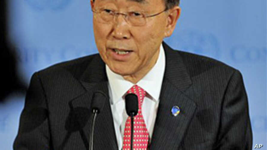 UN Chief: Libya Not Complying with Cease-fire