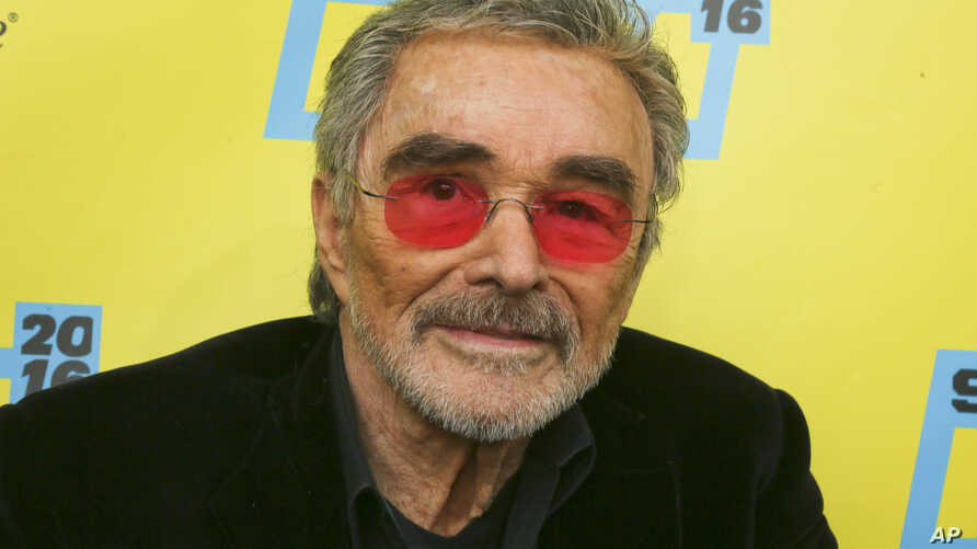 "FILE - Actor Burt Reynolds appears at the world premiere of ""The Bandit"" during the South by Southwest Film Festival in Austin, Texas, March 12, 2016."