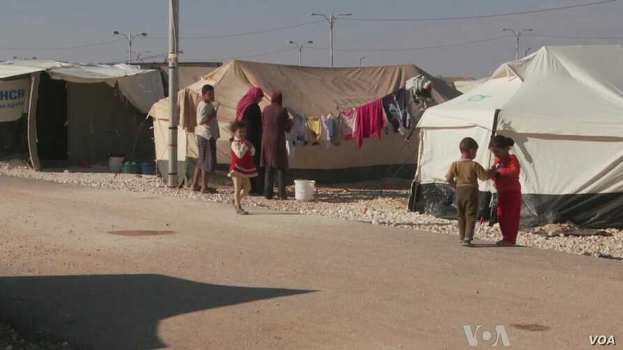 Jordan's Syrian Refugees Await Assad's Fall