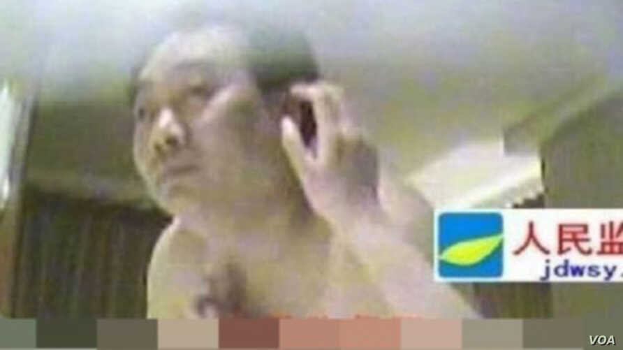Lei Zhengfu was fired after a tape showing him having sex with an 18-year old mistress was circulated online.