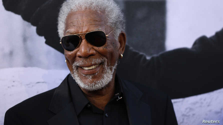 Actor Morgan Freeman is pictured as he arrives at the 2017 American Film Institute Life Achievement Award ceremony in Los Angeles, California, U.S.