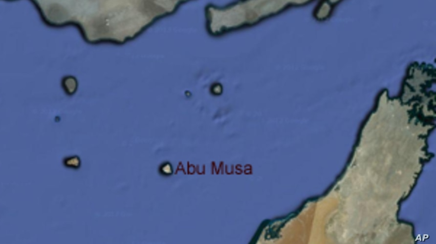 Abu Musa, the island at the center of an ongoing territorial dispute between Iran and the United Arab Emirates.