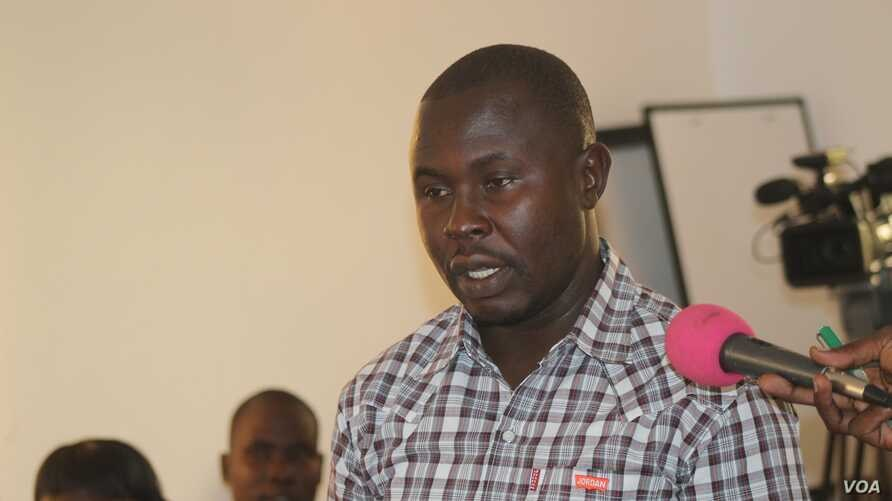 Bazia Justin, a participant in a forum aimed at boosting the involvement of South Sudanese youth in building the world's newest nation,told the agriculture minister that the government and private sector need to give more help to farmers to end food