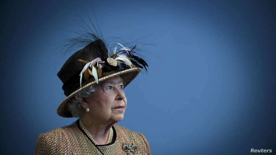 FILE - Britain's Queen Elizabeth in London on February 29, 2012. Queen Elizabeth celebrates her 90th birthday on April 21, 2016.