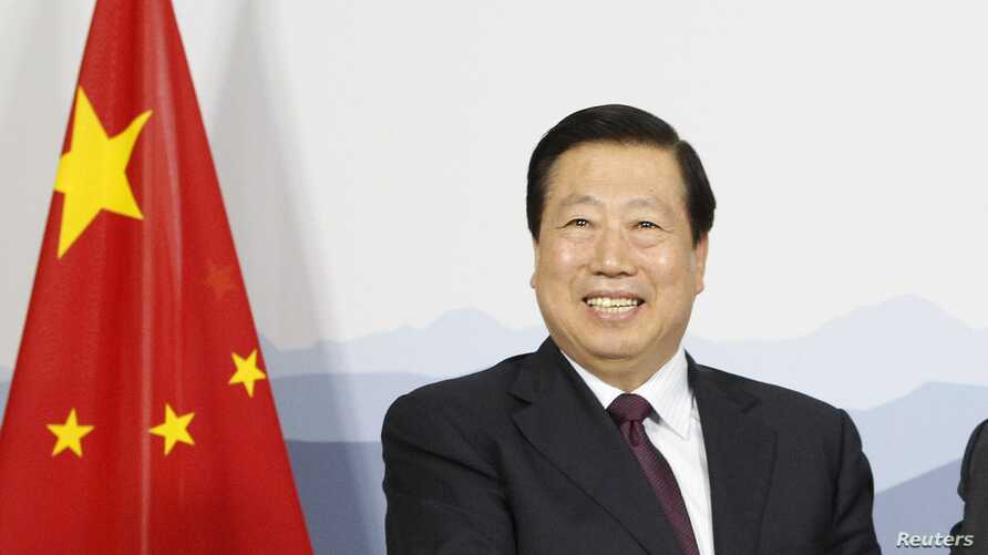 China's Minister for Environment Protection Zhou Shengxian in Bern, June 28, 2012.