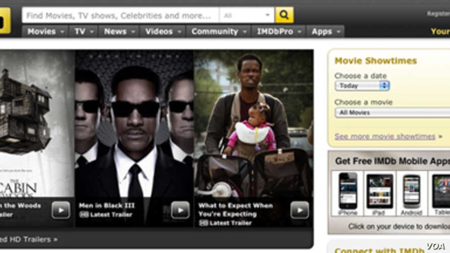 China has lifted the block on the entertainment website IMDB.