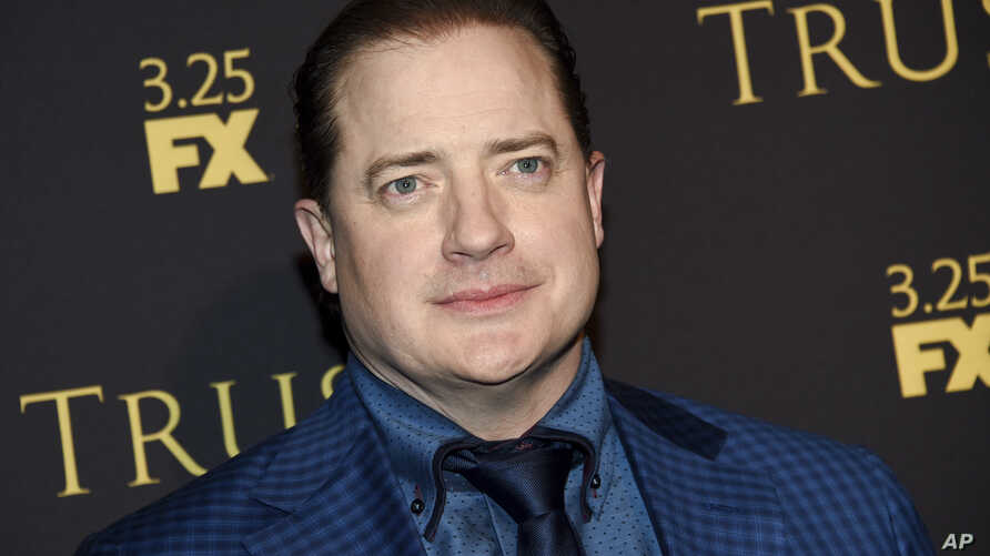 """Actor Brendan Fraser attends a special screening of FX Networks' """"Trust"""" at Florence Gould Hall, March 14, 2018, in New York."""