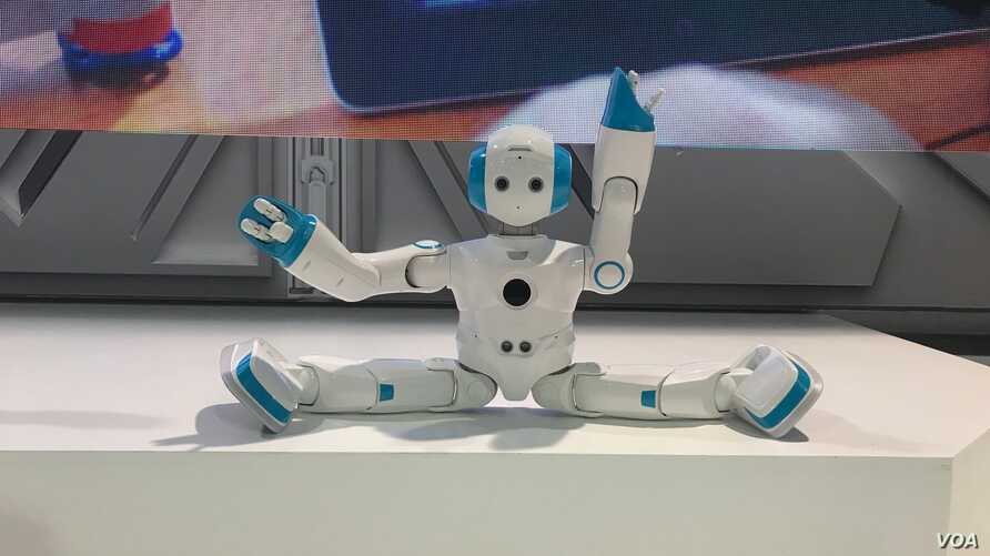 Robots and other technologies were on display at CES, the world's largest consumer electronics show held in Las Vegas, Nevada, Jan. 9-12.