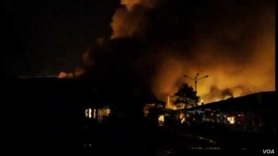 Massive Fire in Thailand Destroys Department Store