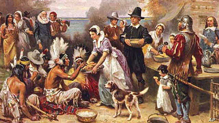 Thanksgiving holiday has its origins in the early 17th century when European settlers shared a meal of thanks with Native Americans after a successful fall harvest
