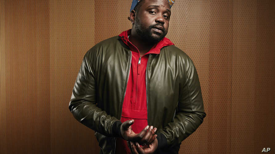 """In this Nov. 15, 2018 photo, Brian Tyree Henry poses for a portrait in New York to promote his latest film, """"If Beale Street Could Talk."""""""