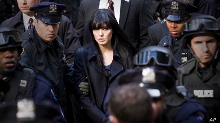 """Angelina Jolie stars as """"Evelyn Salt"""" in Columbia Pictures' contemporary action thriller SALT."""