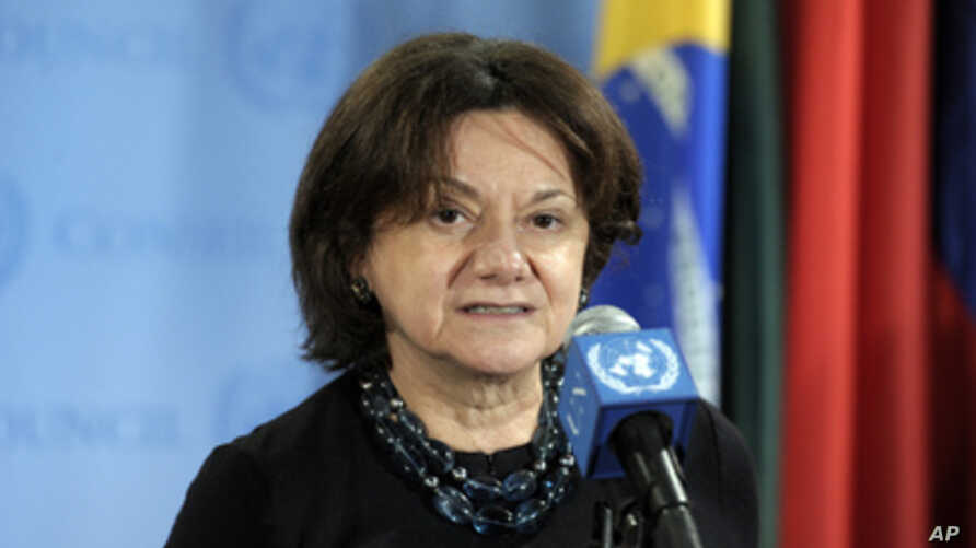 Rosemary DiCarlo, Deputy Permanent Representative of the United States to the United Nations (file photo)