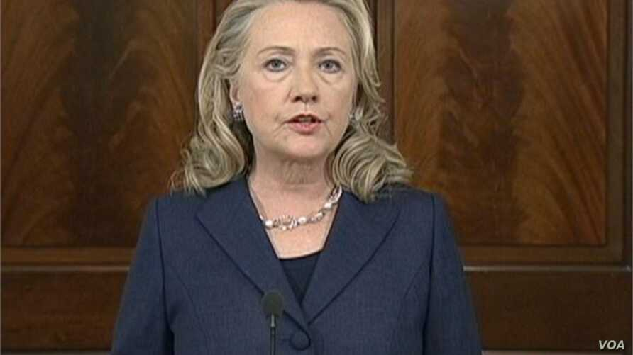 Hillary Clinton on Libya Attacks 9/12/12