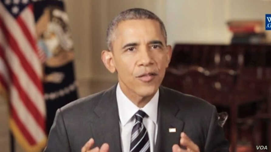 President Obama delivers his Weekly Address, Feb. 6, 2016.