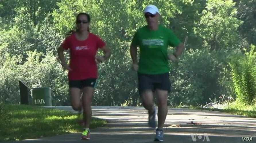 Medical Advances Keep Runner on Track after Spinal Injury