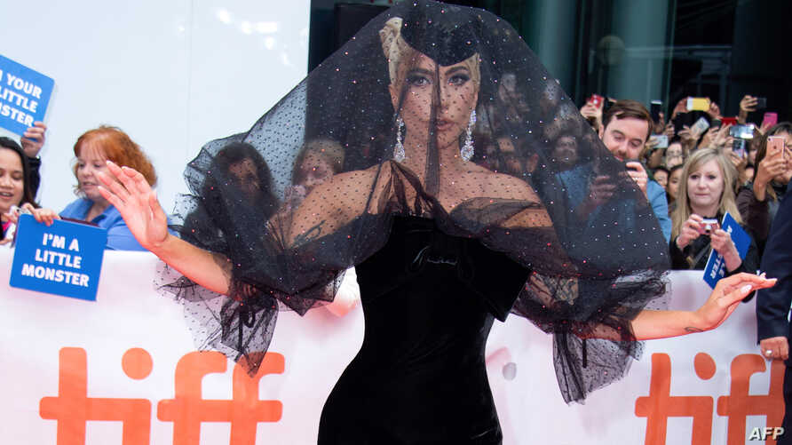 "Singer/songwriter Lady Gaga attends the premiere of ""A Star is Born"" during the Toronto International Film Festival, Sept. 9, 2018, in Toronto, Ontario, Canada."