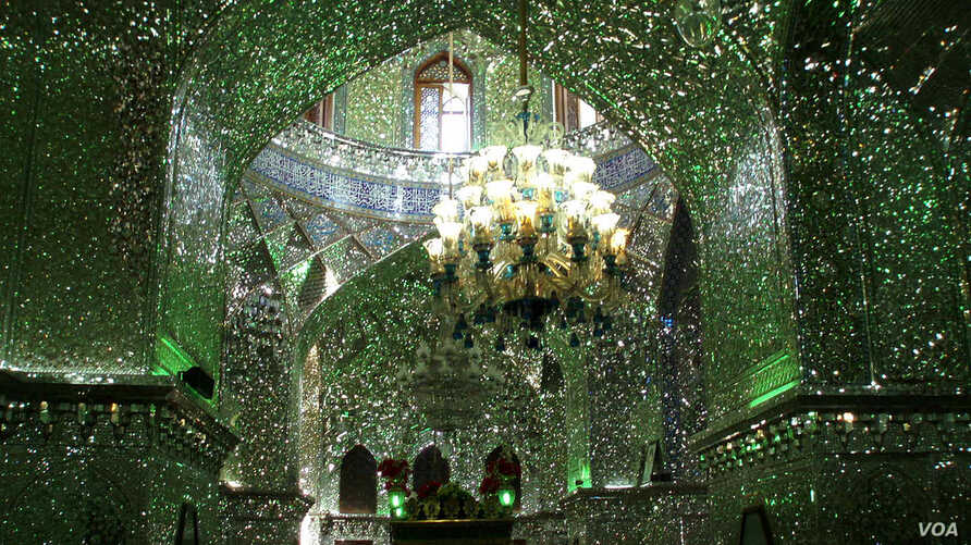 Shah Cheragh Mosque in Shiraz