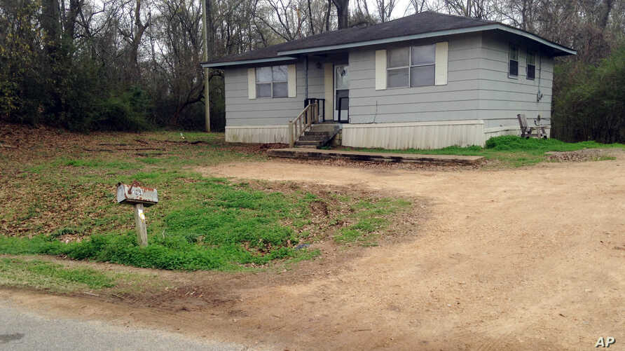 The Port Gibson, Miss., home of ex-convict Otis Byrd, who was reported missing by his family more than two weeks ago, March 20, 2015.