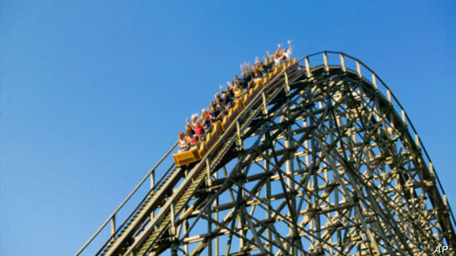 Members of the American Coaster Enthusiasts' club - who of